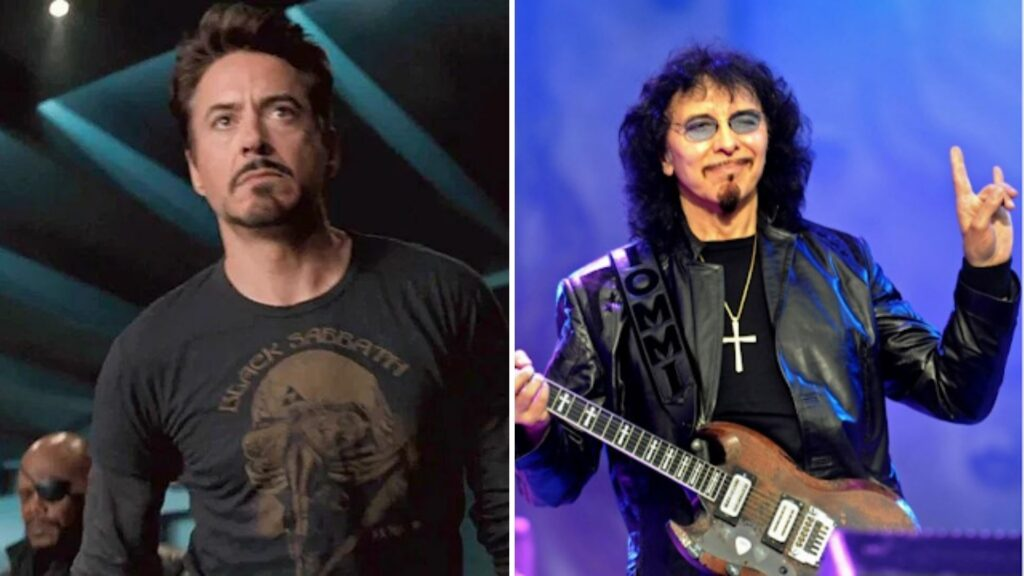 Tony Iommi Robert Downey Jr