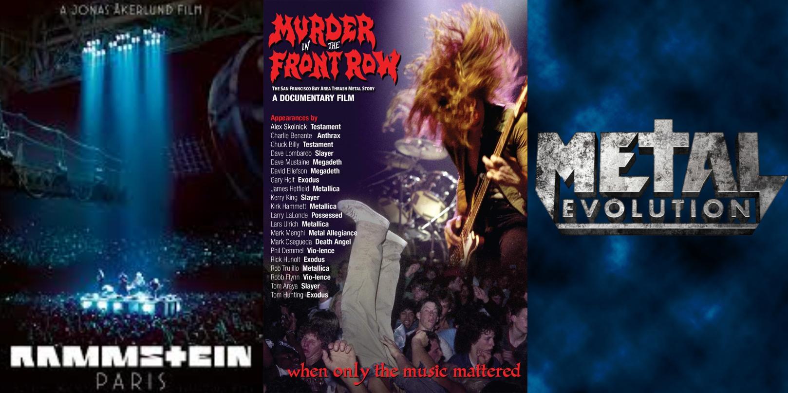 Netflix Rock Metal documentales