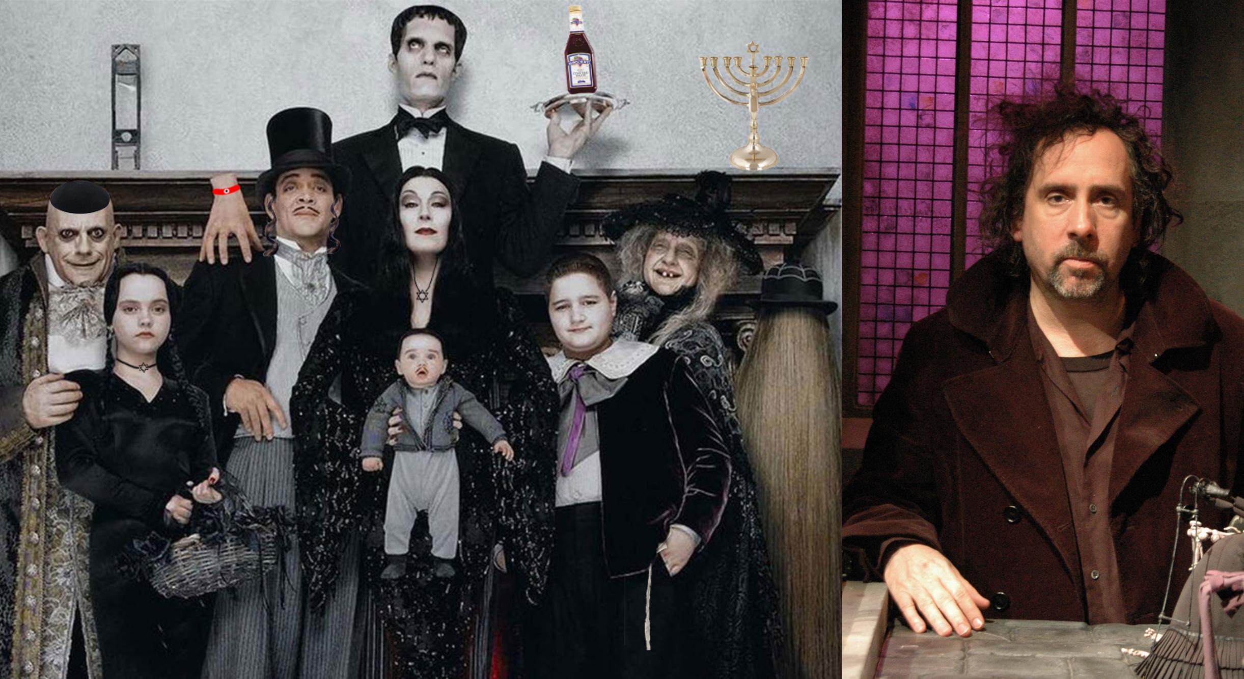 Familia Addams Tim Burton