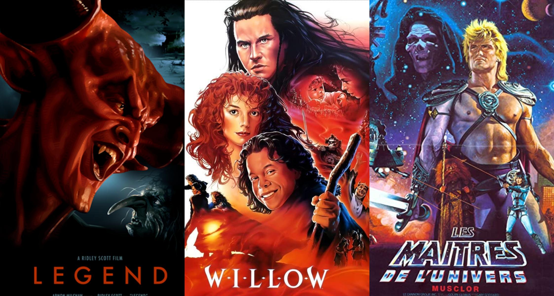 películas espada brujería 80s