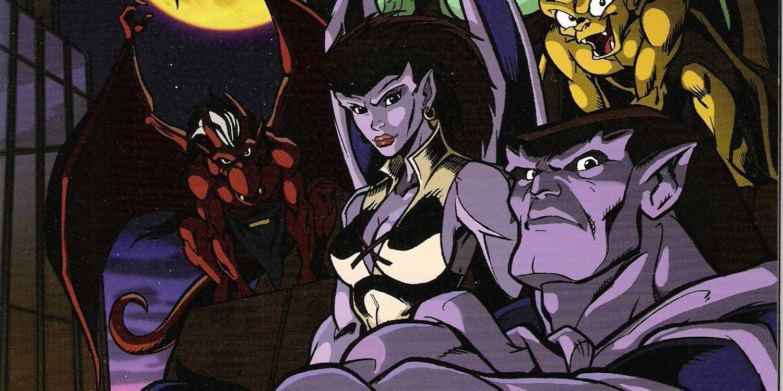 """""""Gárgolas"""": la serie gótica de culto que puedes ver sin censura en Disney"""