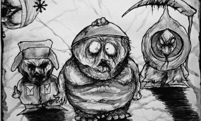 maxime taccardi: Conoce al artista que crea portadas de black metal de dibujos animados
