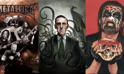 10 canciones de rock y metal inspiradas en las obras de H. P. Lovecraft
