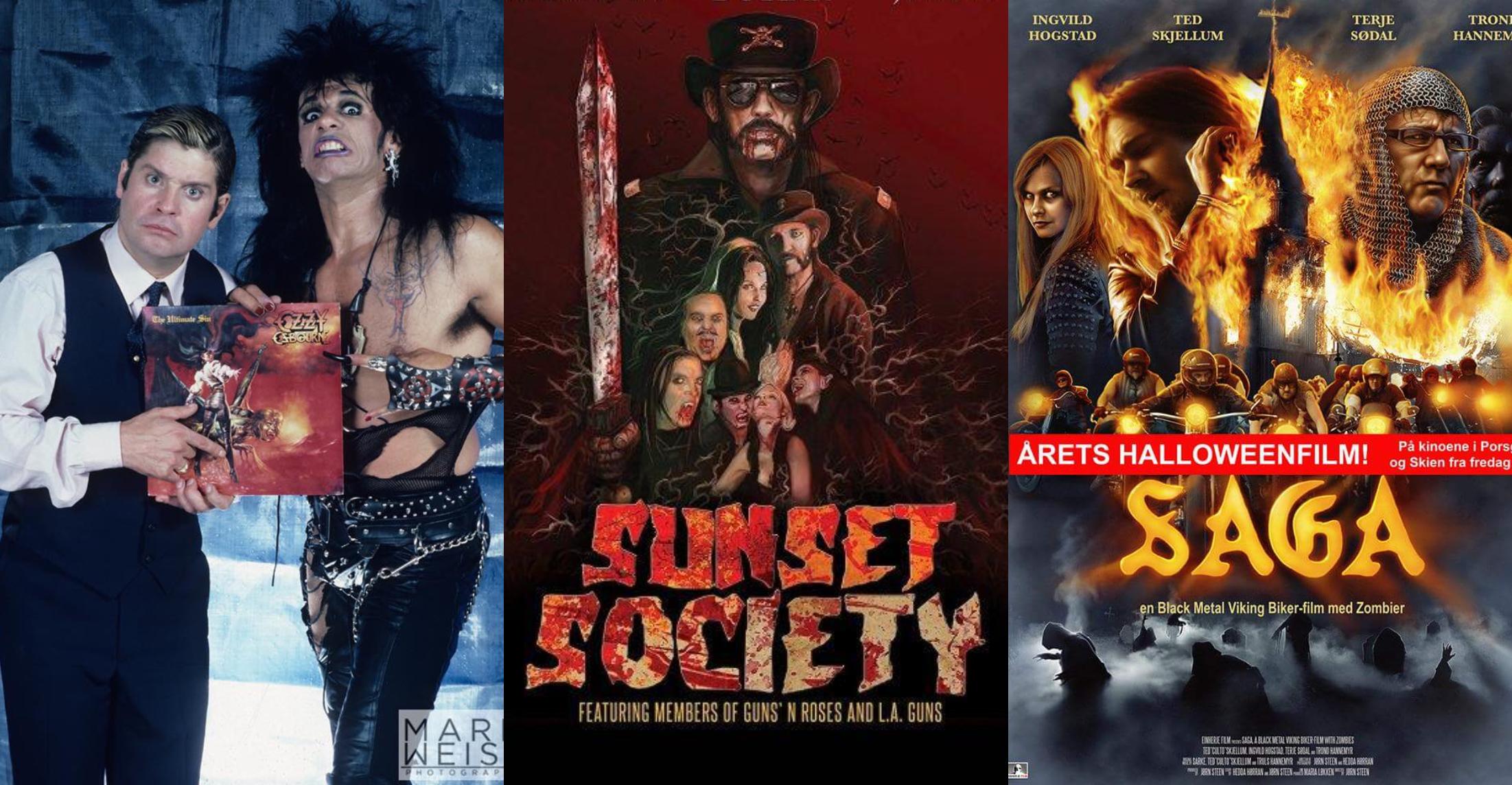 ESPECIAL: 15 películas protagonizadas por estrellas del rock y metal