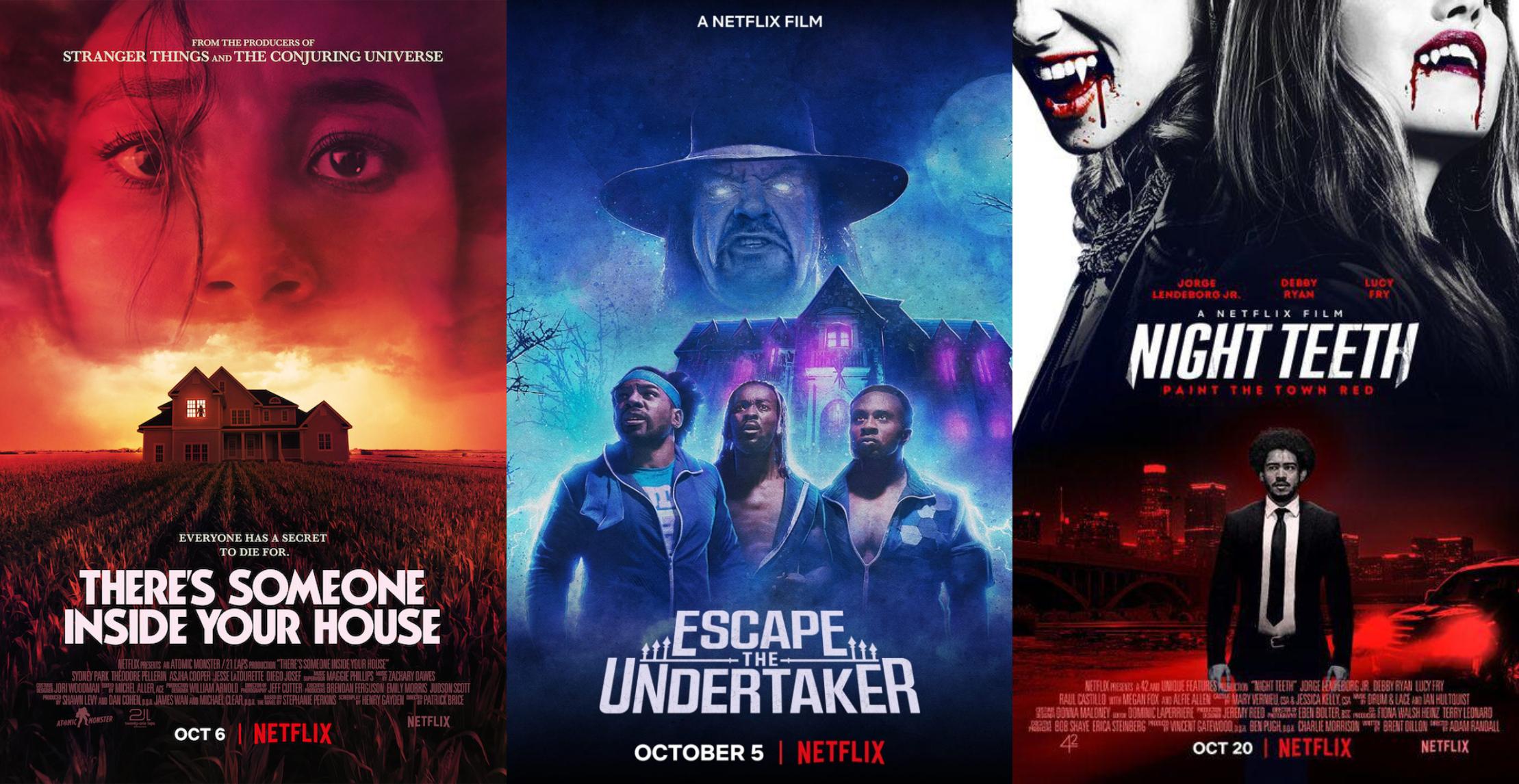 Netflix: 10 estrenos de terror y suspenso que nos ofrece la plataforma este mes